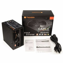 Fonte Real Thermaltake 600 Watts Tr2 Series Black