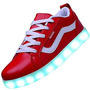 Tenis Led Mujer Odema Women Usb Charging Led Sport Shoes