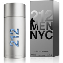 Perfume --- 212 Men --- Carolina Herrera 100% Original