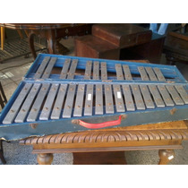 Antigo Metalofone / Xilofone 30 Teclas Jog Anos 50