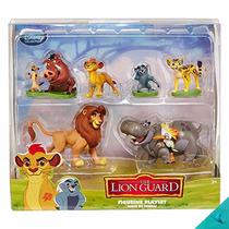 Set 6 Figuras Guardia Del León Disney Collection Lion Guard