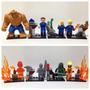 Lego Compatível - Kit 8 Bonecos - Quarteto Fantástico