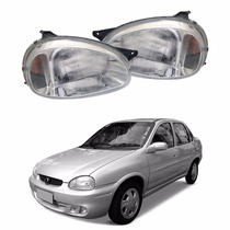 Farol Corsa Sedan 2002 2001 2000 1999 1998 A 94 Pisca Âmbar