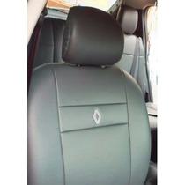 Capa De Banco Couro Renault Sandeiro Clio Logan