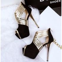 Sapato Feminino Importado Salto Alto - Várias Cores