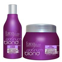 Shampoo + Máscara Desamarelador Matizadora Forever Liss-m3