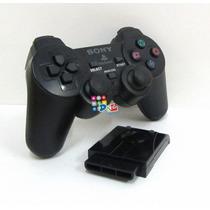 Joystick Sony Ps2 Inalámbrico En Caja Garantía 6 Meses Mirá