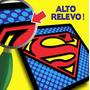 Kit 18 Quadros Em Relevo Super Heróis À Escolher