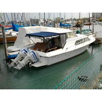 Crucero Paglietini 850 Con 2 Motores Evinrude 200 Hp