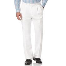Pantalón Blanco Modelo De Vestir.