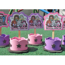 20 Lembrancinhas Monster High - Serve Como Enfeite