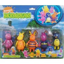05 Miniaturas Bonecos Backyardigans