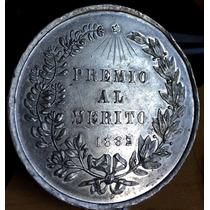Medalla México Expo Industrial Queretaro 1882 Aluminio