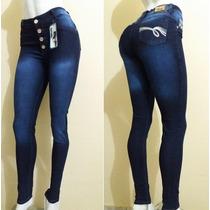 Calça Legue Jeans. 2%elastano Cintura Alta