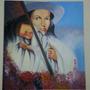 Cuadros Modernos Religiosos Divina Pastora Sagrado Corazón