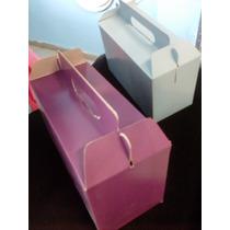 Caja De Carton Tipo Lonchera