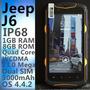 Celular Jeep J6 Resistente Sumergible G-shock 3g Quad Core
