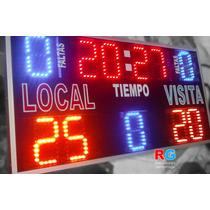 Marcador Deportivo Futbol Básquetbol Tablero Score Timer