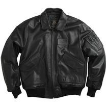 Chaqueta Alpha Industries En Cuero Cwu 45p Leather