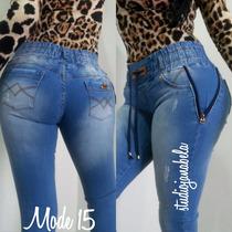 Jeans Pantalon De Dama Studio F Strechs