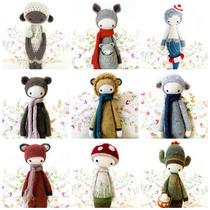 21 + 1 Patrones Lalylala - Amigurumi - Crochet - Español