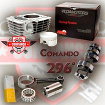 Kit Turbo Nxr Bros125 2012 2013 2014 P/190cc Comando 296 Wgk