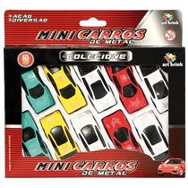 Mini Carro De Metal Colecione C/10 - Art Brink