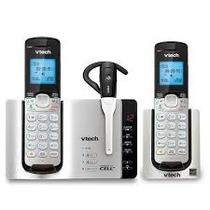 Telefonos Vtech Ds6671-3 Con Manos Libres Y Bocina Bluetooth