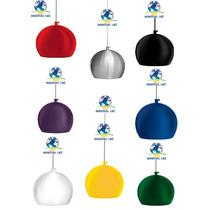 Pendente Bola Em Alumínio Colorido, Pendente Prismático,cone
