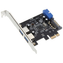 Placa Pci Express Usb3.0 Sata Painel Frontal Pen Drive Hd Pc