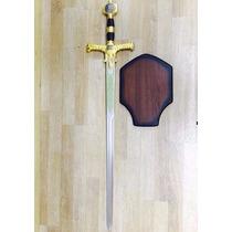 Espada Medieval C/suporte Parede - Rei Davi