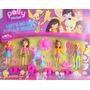 Kit Polly Pocket Com 4 Bonecas, Poney E Acessórios