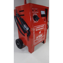 Carregador Bateria De Carro Barcos Trator 12v 100amp Xcb-50