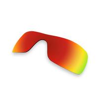 Repuestos De Lentes Para Gafas Oakley Batwolf Rojo
