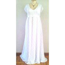 Plus Size Sob Medida Vestido Noiva Boho Chic Renda Gordinhas