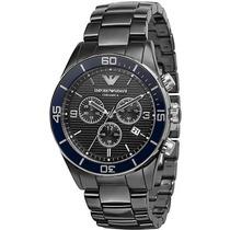 Relógio Emporio Armani Ar1429 Cerâmica Preto Original 12x