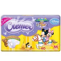 Fralda Cremer Disney Baby M 40 Unidades