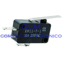 Chave Micro Switch Para Forno Microondas Kw11-7-3-27mm
