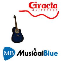 Guitarra Electroacustica Gracia 110eq C/ Funda