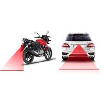 Luz Laser De Advertencia Anticolision Motocicleta Automovil