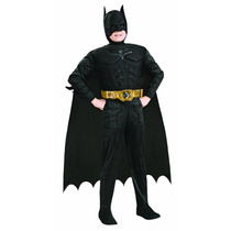 Disfraz Niño Batman Caballero Noche Original Con Musculos