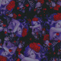 Calaveras - K24 - Skulls Seduction - Ancho 1m