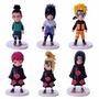Set X 6 Figuras De Naruto Con Base En Villa Crespo