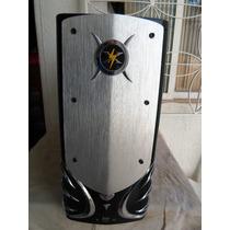 Gabinete Atx Com 2 Coolers E Usb E Audio Frontal. Com Marcas