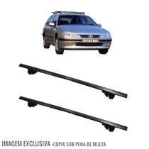 Rack Travessa Peugeot 406 Break 1997 A 1999 Eqmax 6180 Preto