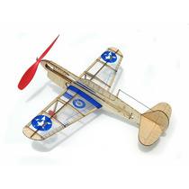 Avión Motor De Liga Serie Minimodels Guillow, Modelo Warhawk
