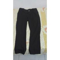 Pantalones De Vestir Color Marron Marca Etiqueta Negra