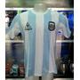 Camiseta Argentina Maradona Campeon 1986 Conmemorativa