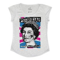 T Shirt Pearl Jam Poster Rainha - Estampa Alta Definição