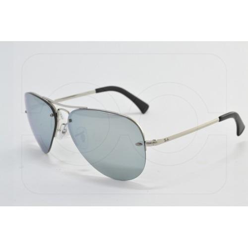 b23a0c005420e Óculos De Sol Ray Ban Top Aviador Rb3449 003 30 Metal Unisse - R ...